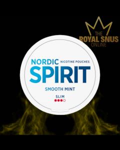 Nordic Spirit Smooth Mint Slim All White, أكياس النيكوتين NORDIC SPIRIT
