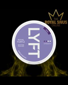 Lyft Royal Purple Mini Slim All White, أكياس النيكوتين lyft