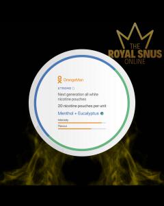 OrangeMan Menthol + Eucalyptus Xtreme