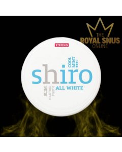 Shiro Cool Mint Strong Slim All White